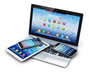 Sito Web adaptive per smartphone tablet